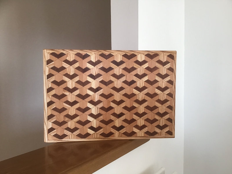 3D Y and V Chopping Board