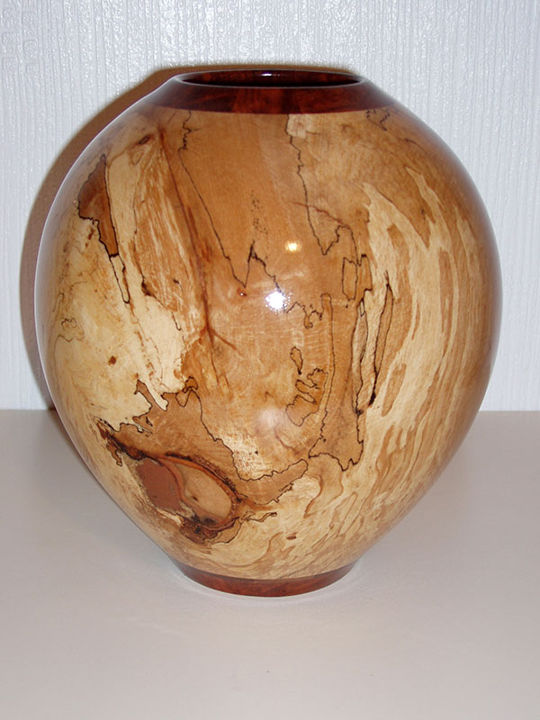 Spalted Beech with Copper Infill