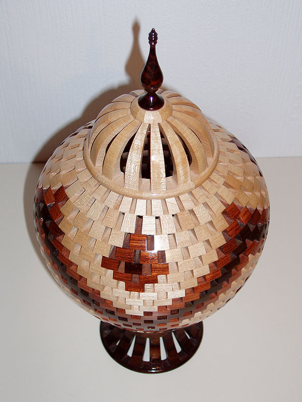 'The Dome II' Open Segmented Lidded Vessel