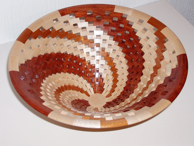 Open Segmented 'Spiral' Bowl