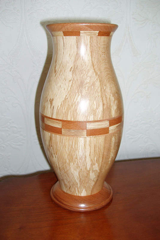 Spalted Beech Vase