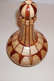 'Spanish Wine Bottle' Lidded Vessel