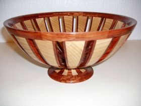 Open Section Bowl On Pedestal