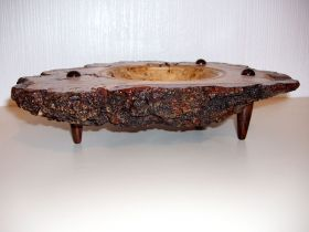 Oak Burr Bowl