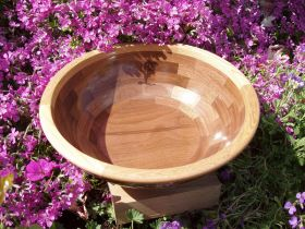 Elm & Walnut Bowl
