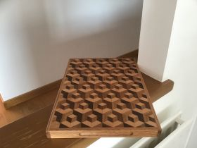 3D Box On Shelf Chopping Board