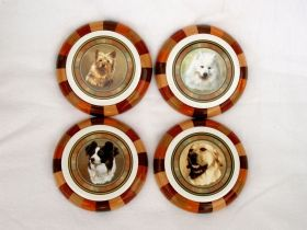 Set of 4 Coasters (Dogs)