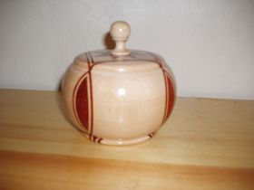 Star Centre Lidded Vessel