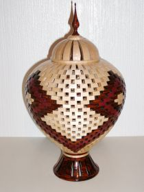 'The Dome' Open Segmented Lidded Vessel