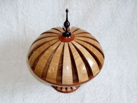 Large Potpourri Lidded Vessel