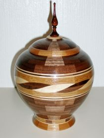 'Twisted Rope' Lidded Vessel